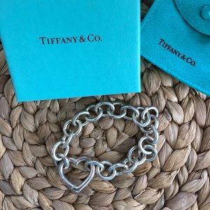 Authentic Tiffany Heart bracelet